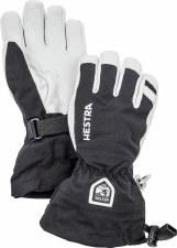 2021 Hestra Army Leather Heli Junior Glove Black 4