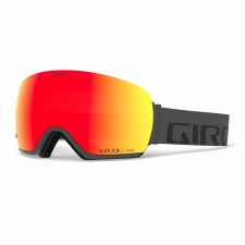 2021 Giro Article Grey Woodmark with Vivid Ember Lens