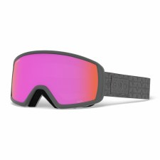 2020 Giro Gaze Titanium Quilted with Amber Pink Lens