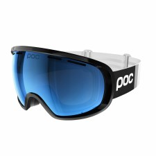 2021 POC Fovea Clarity Comp Uranium Black w/ Blue Mirror Lens