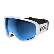 2021 POC Fovea Clarity Comp Hydrogen White w/ Spektris Blue Lens