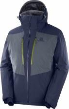 2020 Salomon Mens IceFrost Jacket Night Sky Extra Large