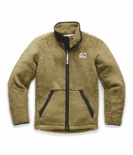2020 TNF Boy's Campshire Full Zip British Khaki Extra Large