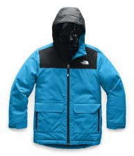 2020 TNF Boy's Freedom Insulated Jacket Acoustic Blue Small