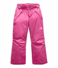 2020 TNF Girl's Freedom Insulated Pant  Mr. Pink Large