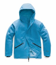 2020 TNF Girl's Lenado Insulated Jacket Acoustic Blue Large