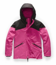 2020 TNF Girl's Lenado Insulated Jacket Mr. Pink Large