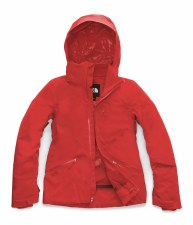 2020 TNF Women's Lenado Jacket Fiery Red Small