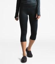 2020 TNF Women's Warm Poly Capri TNF Black Extra Small