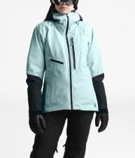 2020 TNF Women's Lostrail Jacket Cloud Blue/TNF Black Large