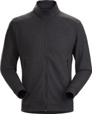 2021 Arcteryx Men's Covert LT Cardigan Black Heather Medium