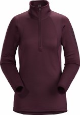 2021 Arcteryx Women's RHO AR Zip Neck Rhapsody Large