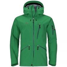 2021 Elevenate Backside Men's Jacket Solid Green Large