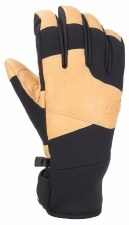 2021 Gordini Mens Mountain Crew Glove Black/Tan Medium