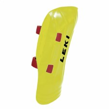 2021 Leki WC Pro Shin Guard Junior Yellow