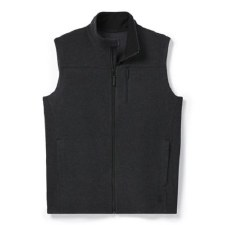 2021 Smartwool Men's Anchor Line Vest Charcoal Heather Medium