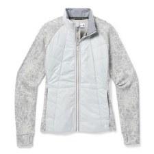 2021 Smartwool Women's Smartloft 60 Jacket Storm Grey Large