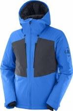 2021 Salomon Mens Highland Jacket Indigo Bunting/Ebony Medium