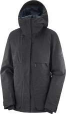 2021 Salomon Womens Proof LT Jacket Black Heather Small