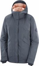 2021 Salomon Womens Snow Rebel Jacket Ebony Small