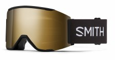 2021 Smith Squad MAG Black, CPS Black Gold Mirror & Storm Rose Flash Lenses