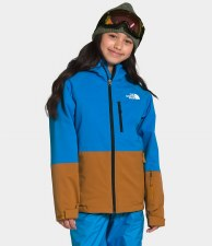 2021 TNF Chakadoo Youth Insulated Jacket Clear Lake Blue Small