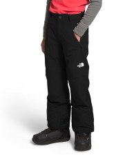 2021 TNF Freedome Boy's Insulated Pant TNF Black/TNF White Medium