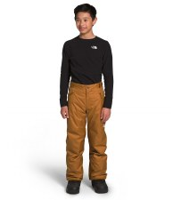 2021 TNF Freedome Boy's Insulated Pant Timber Tan Extra Large