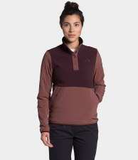2021 TNF Mountain Sweatshirt Women's PO 3.0 Root Brown/Marron Purple Small
