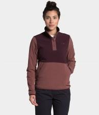 2021 TNF Mountain Sweatshirt Women's PO 3.0 Root Brown/Marron Purple Small