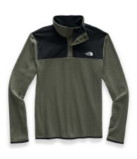 2021 TNF TKA Glacier Mens Pullover New Taupe Green/TNF Black Medium