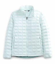 2021 TNF Thermoball Girls Jacket Starlight Blue Small