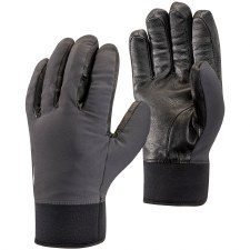 2022 Black Diamond Heavyweight Softshell Gloves Smoke Extra Small