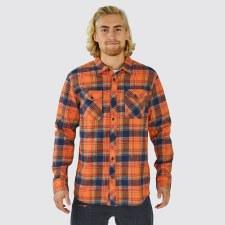 2022 Elevenate Mens Cham Shirt Spicey Orange Medium