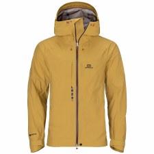 2022 Elevenate Mens Free Tour Jacket Mineral Yellow Medium