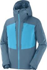 2022 Salomon Mens Highland Jacket Mallard Blue Medium