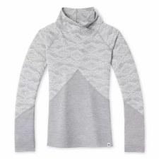 2022 Smartwool Womens Merino 250 Crossover Neck Light Grey Small