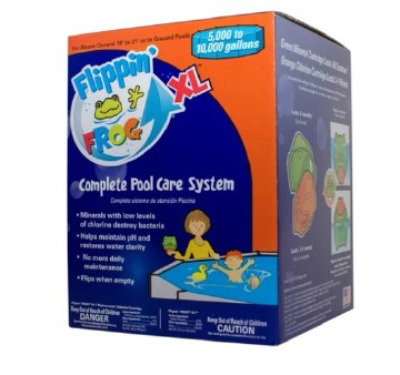 FLIPPIN FROG  XL COMPLETE POOL CARE SYSTEM