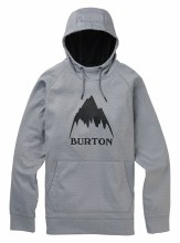 Crown Pullover Gray Heather M