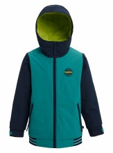 Game Day Boys Jacket Green Blu