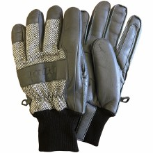 Leather Work Glove Smoke M