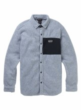 Hearth Fleece Shirt Gray M