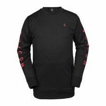 Pat Moore Fleece Black L