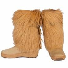 Sarah 2 Fur Boot Brown 7