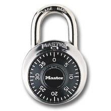 Master Lock 1-7/8in (48mm) Wide Combination Dial Padlock