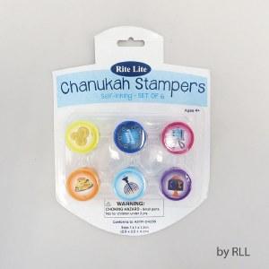 Chanukah Design Stampers Set of 6