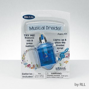 The Musical Dreidel - Lights Up and Plays The Dreidel Song