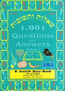 1,001 Questions and Answers Volume 3 [Paperback]