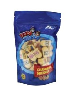 Bulk Pack Wood Dreidels Medium Size - 30 Pieces