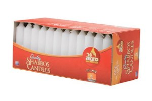 European Shabbos Candles 3 Hour - 72 Pack